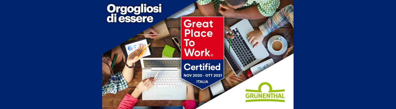 Certificazione GREAT PLACE TO WORK®